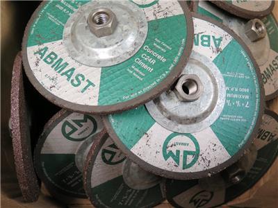 "7/"" diameter Concrete Grinding Wheel Silicon Carbide Masonry 5//8/"" hole 6pc"