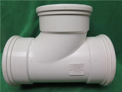 5pc Sdr35 6 Quot Tee Wye 90 176 Elbow Gasketed Pvc Fitting Sewer