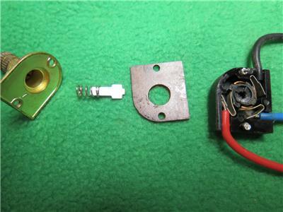 10 Brass Rotary Knob Lamp Light Switch 6a125vac 3a250vac