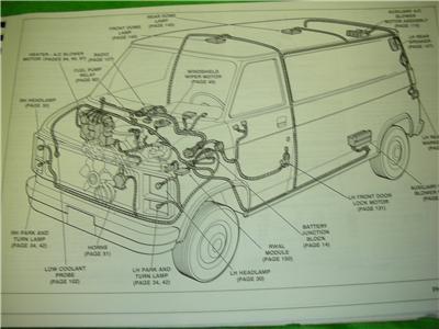 1991    GMC       VANDURA    VAN ELECTRICAL    DIAGRAMS    SERVICE MANUAL   eBay