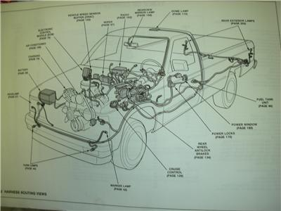 1992 gmc sonoma electrical diagrams van service manual | ebay, Wiring diagram
