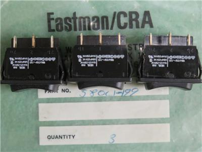 EASTMAN 580C1-199 SWITCH DUAL SPEED DS 1PH 3 POSITION 629X 627X STRAIGHT KNIVES