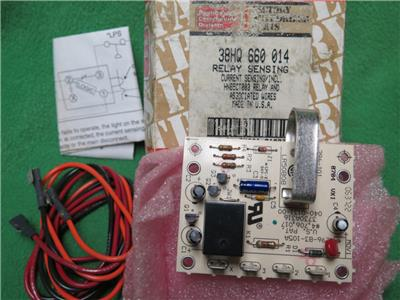 Details about CARRIER 38HQ660014 COMPRESSOR LOCKOUT CURRENT SENSING RELAY  HN65CT003