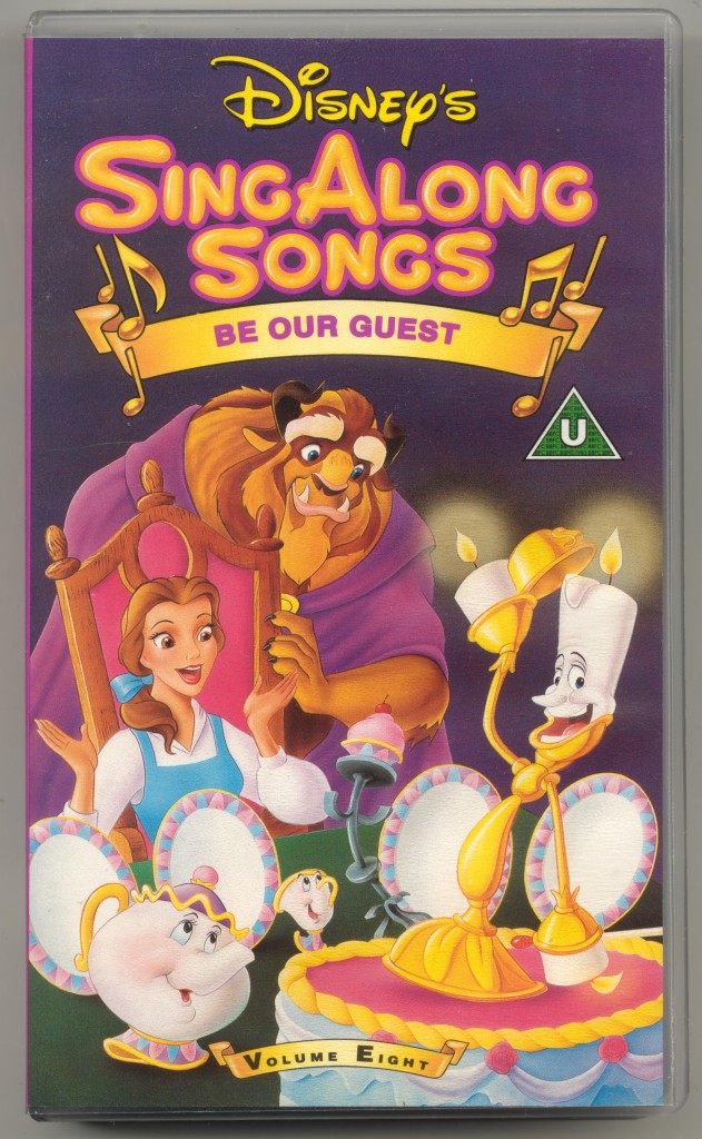 disney 39 s singalong songs be our guest vhs video mary poppins etc ebay. Black Bedroom Furniture Sets. Home Design Ideas
