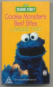 SESAME STREET - Cookie Monster's Best Bites, ABC VHS Video ...