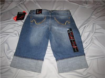 Southpole Jean Shorts Jean Bermuda Shorts Low Rise Juniors