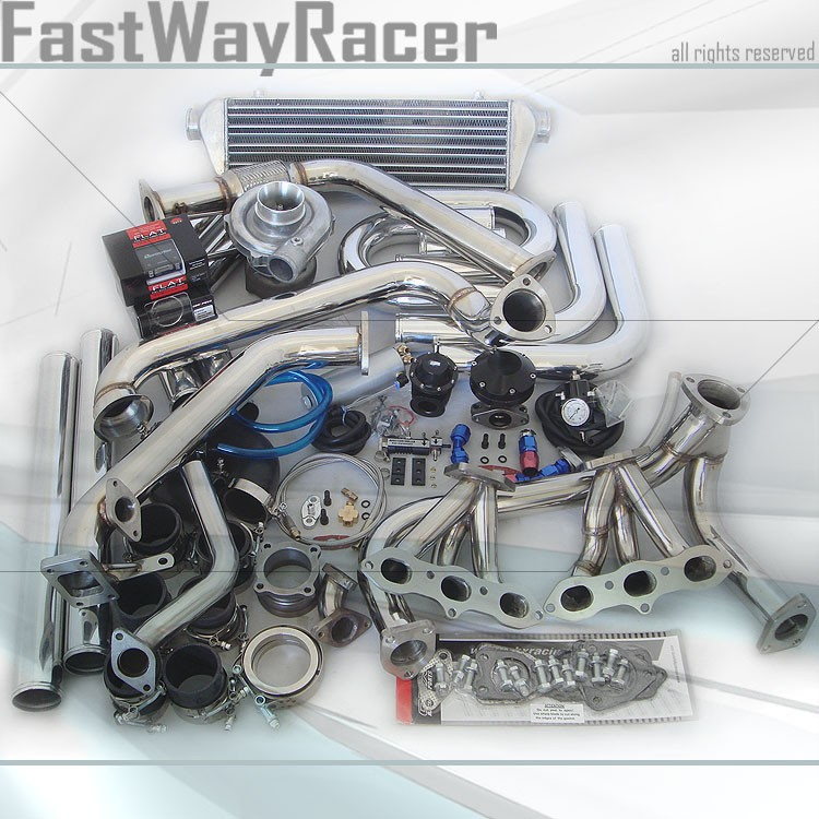 Complete Accord CL V6 J30 T3/T4 Turbo Kit 400HP T3 T4