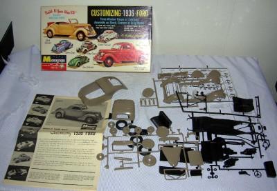 Monogram Customizing 1936 Ford Model kit #PC68 198