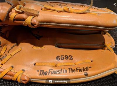 771b457c Composite Bats VINTAGE RAWLINGS Right Handed Baseball Softball Glove Ozzie  Smith 6592