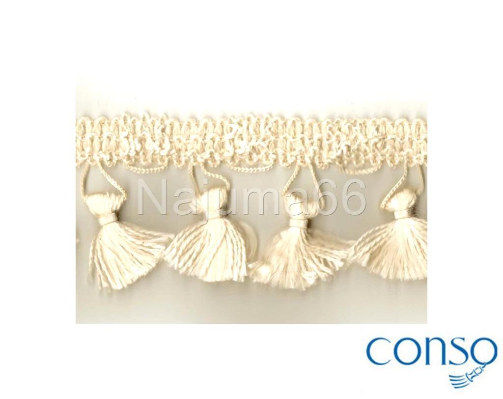 """New! Conso 2"""" Tassel Fringe Home Decor Upholstery Trim"""