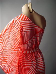 Sale Black Kimono Sleeve One Shoulder Goddess Cocktail Evening 35 mv Dress S M L
