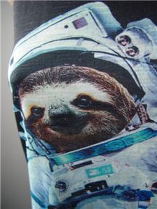 Astronaut Space Sloth Moon Slothstronaut Meme Graphic Tee Top 236 mv Shirt S M L
