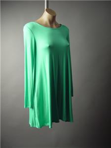 Mint Green Strappy Lace Up Open Back Casual Basic Swing Mini 187 mv Dress S M L