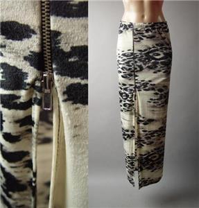 Sale Paisley Ethnic Patchwork Print Foldover Waist Long Maxi 147 mv Skirt S M L