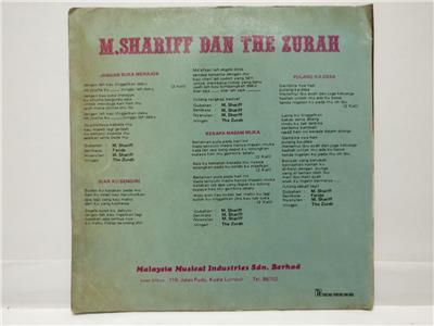 Details about Malay M  Shariff & The Zurah Band Psych Garage Rare Malaysia  7