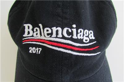 5d4b4252fbd68 BALENCIAGA Campaign Logo Cap 2017 Black Political Baseball Cap Bernie  Sanders
