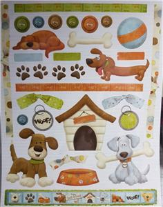 A4  Card Toppers With Background Sheet Dog Circus Princess NEW Nitwit