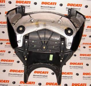 2003-2007 Ducati 749 999 Biposto DARK color rider seat /& pan assembly *