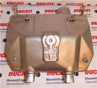 2008 Ducati Desmosedici RR D16RR street bike exhaust silencer muffler 57312001A