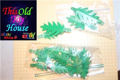 LEGO 2518 OR 6148 PALM LEAF CHOICE OF SIZE GREEN PALMLEAF Pre-Owned