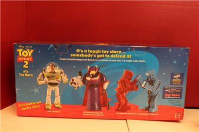 Toy Story Action Figures Set : Toy story al s toy barn battle set action figure set mib