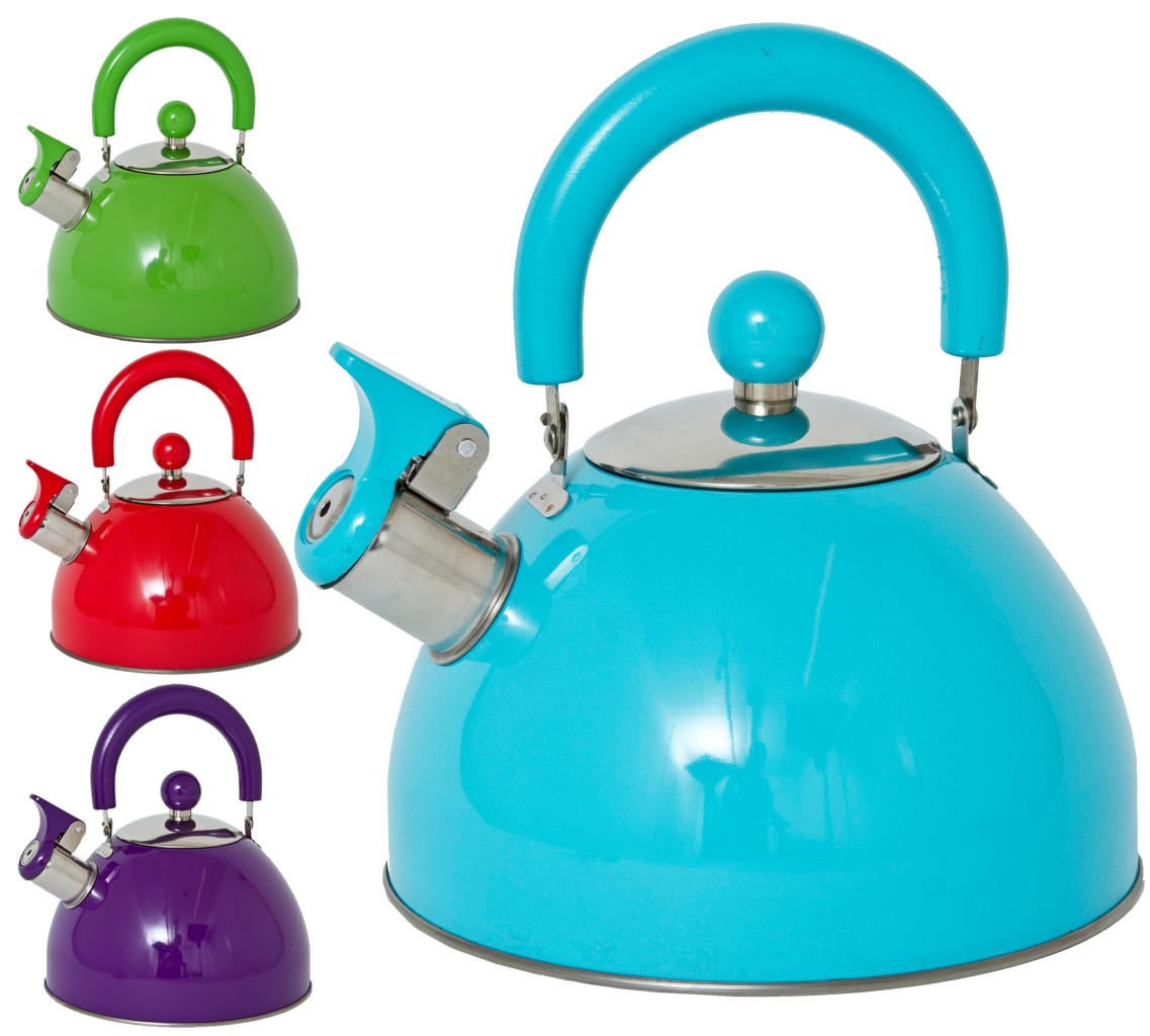 Cooking With A Kettle ~ Retro style l whistling kettle boiling cooking electric