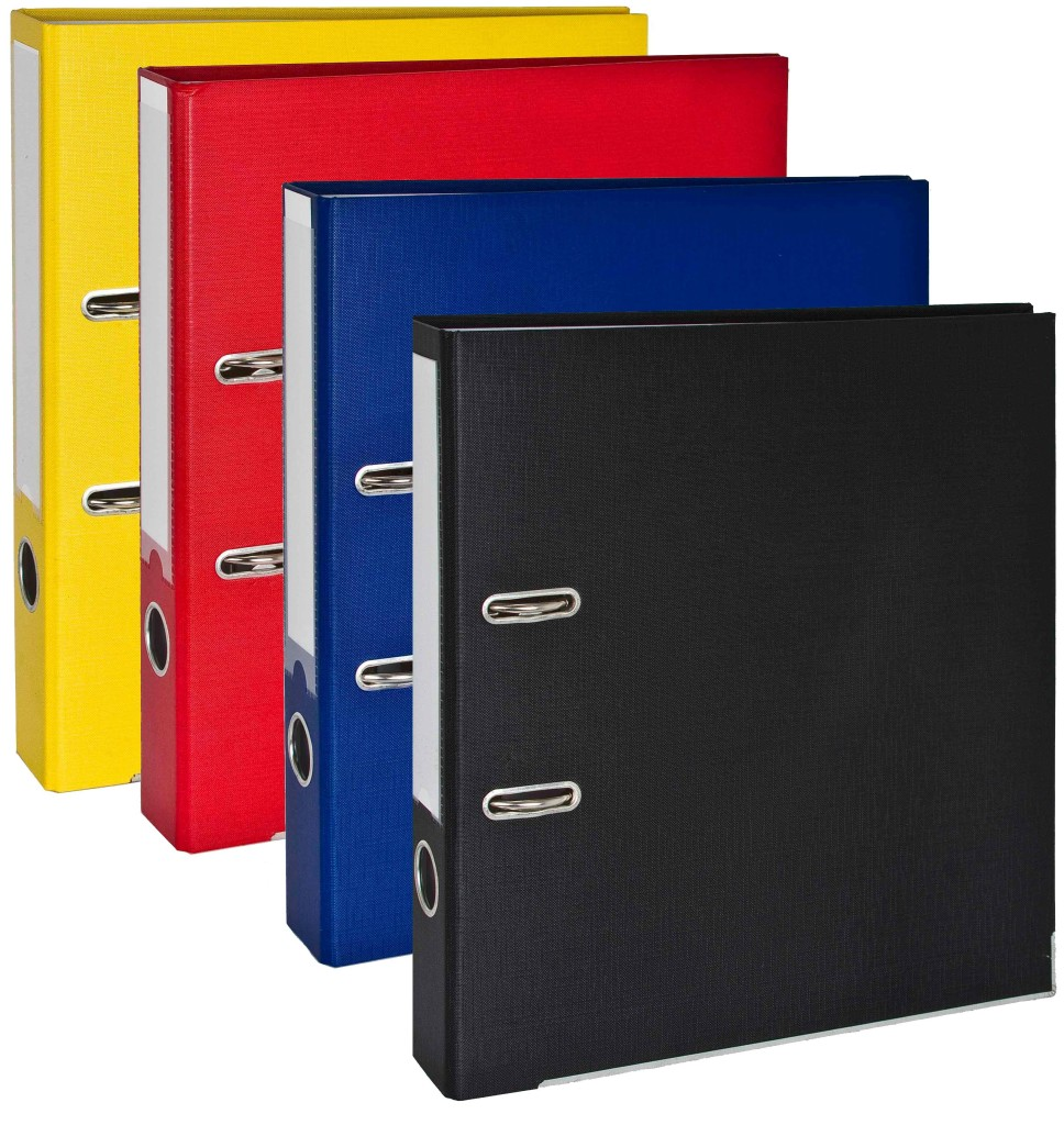 25mm 2 Rings Lever Arch Ring Binder Presentation Files