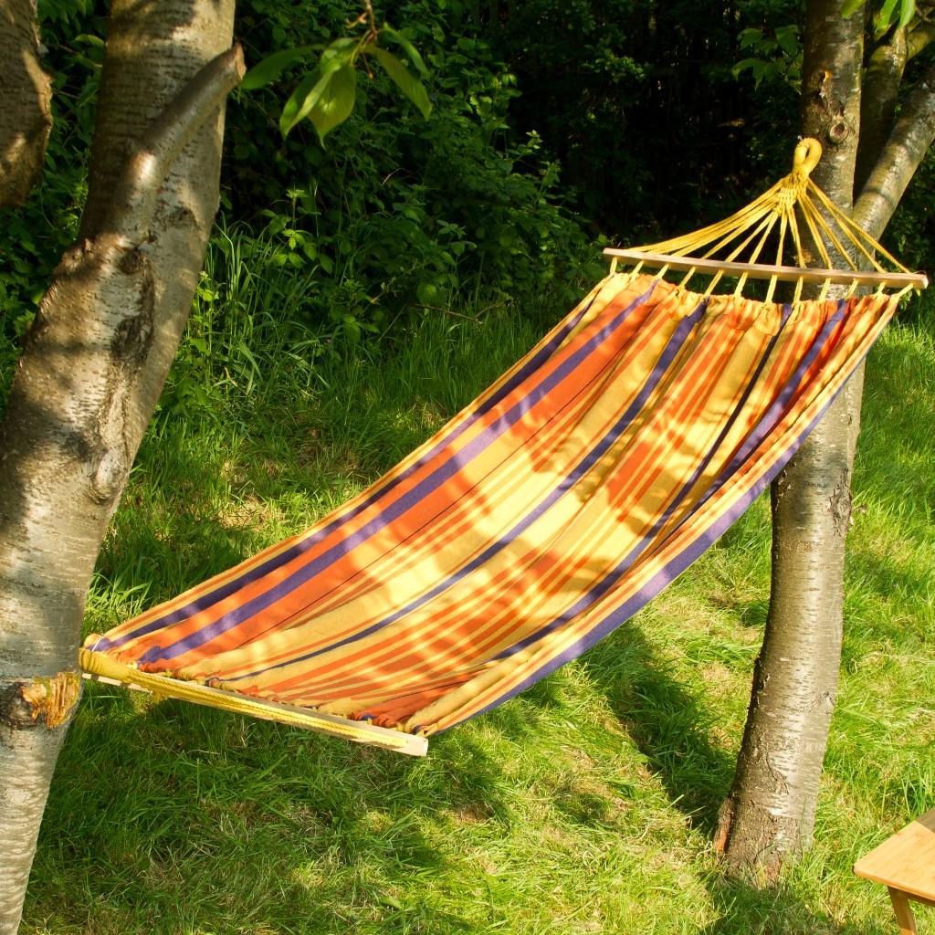 Outdoor Garden Canvas Hammock Swinging Hanging Camping