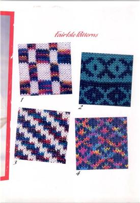 Brother Knitting Machine Patterns Beginners Collection