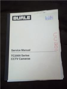 Details about Burle Service Manual for the TC2000 Series CCTV Cameras mp