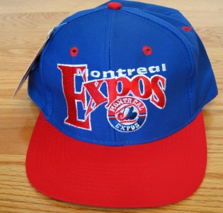 VINTAGE MLB MONTREAL EXPOS FITTED HAT on PopScreen 797beff50f66