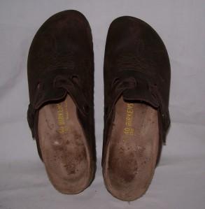 birkenstock women 39 s clogs shoes made in germany size 40 narrow ebay. Black Bedroom Furniture Sets. Home Design Ideas
