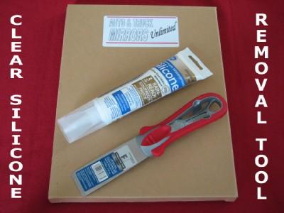 Side Glass Silicone Adhesive Glue Amp Mirror Removal Scraper