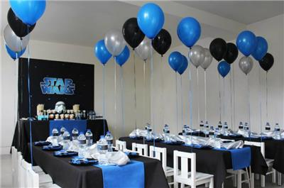 black and blue party