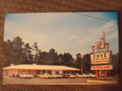 Details About Tuscaloosa Al Vintage Chrome Postcard The Cove Restaurant Old Cars