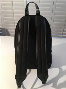 b3dd76c2ec NIB Authentic Versace VERSUS Black Canvas MEDUSA Eyelet Trimmed Backpack Bag.  Click images to enlarge