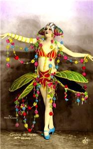 Zebra Man Art Print on Vintage Book Page Mardi Gras Costume Home Decor Gifts