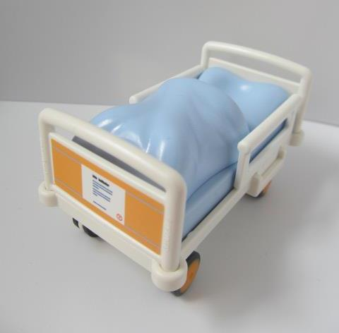 Playmobil Hospital Furniture Bed For Child Sized Figure New Ebay
