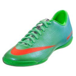 nike mercurial victory iv ic indoor soccer shoes 2013 lime