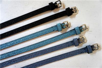 Spur straps Kids Youth Western Show Super Bling Tooled New color Pink Teal Royal