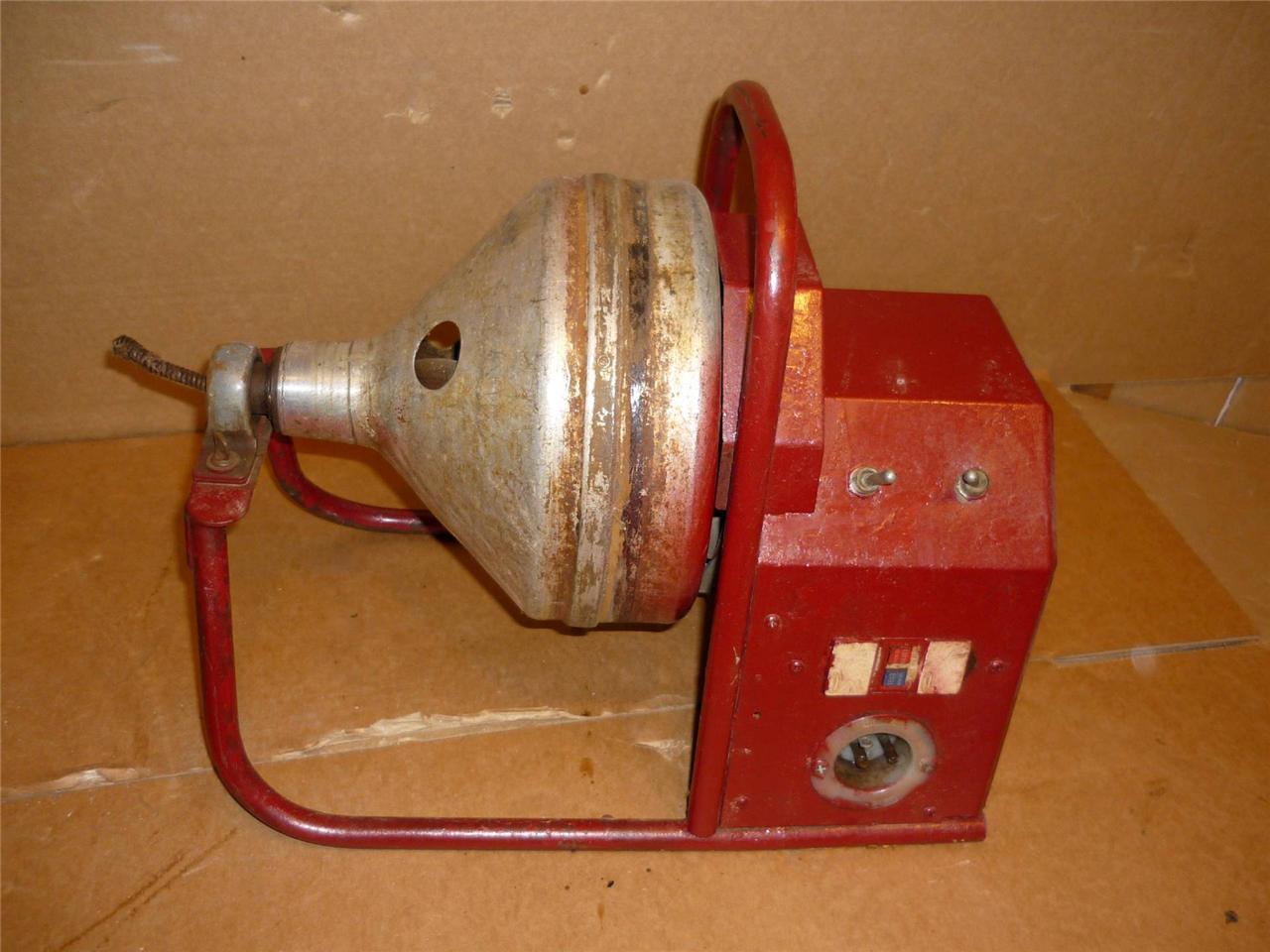 Gorlitz Sewer Amp Drain Snake Model Go 15 Drain Cleaning Machine
