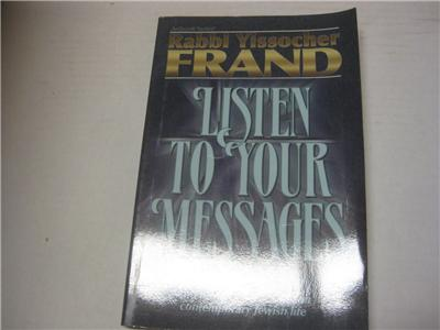 Listen To Your Messages By Rabbi Yissocher Frand And Other