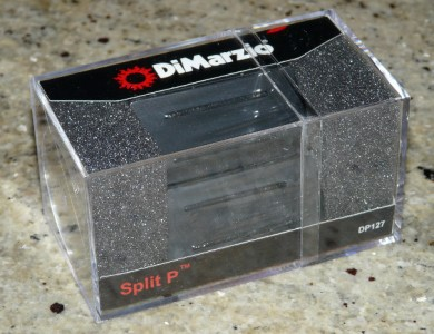 dimarzio dp127 split p humbucker bass pickup fits fender squier precision ebay. Black Bedroom Furniture Sets. Home Design Ideas