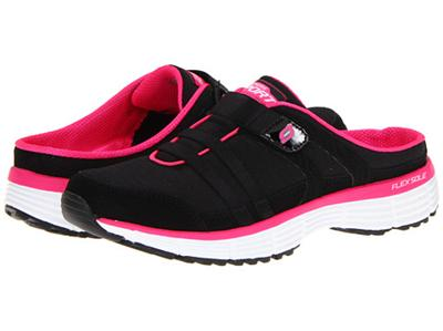 Womens Black Tennis Shoes Backless