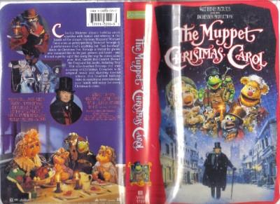 Muppet Christmas Carol Vhs.The Muppet Christmas Carol Vhs