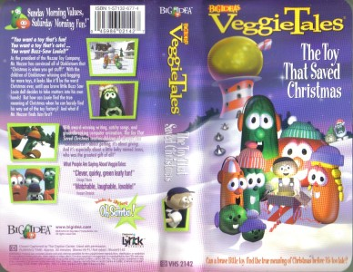 vhs veggie tales the toy that saved christmas - The Toy That Saved Christmas