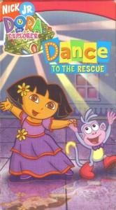 VHS: DORA THE EXPLORER DANCE TO THE RESCUE | eBay