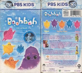 vhs pbs kids ragdoll 039 s boohbah snowman new ebay