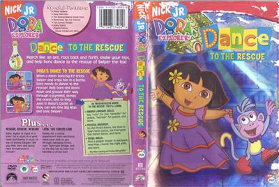 DVD: DORA THE EXPLORER DANCE TO THE RESCUE ( DAMAGE TO ...
