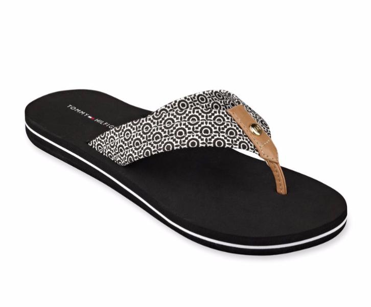 tommy hilfiger flip flops women 39 s thong sandals 30 ebay. Black Bedroom Furniture Sets. Home Design Ideas